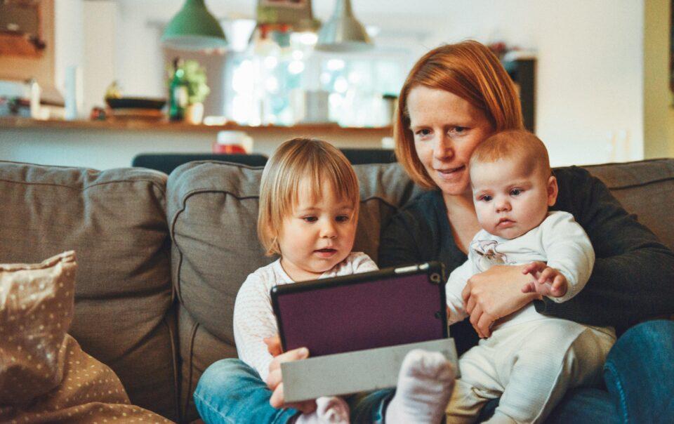 mama sa dvoje djece i biznis