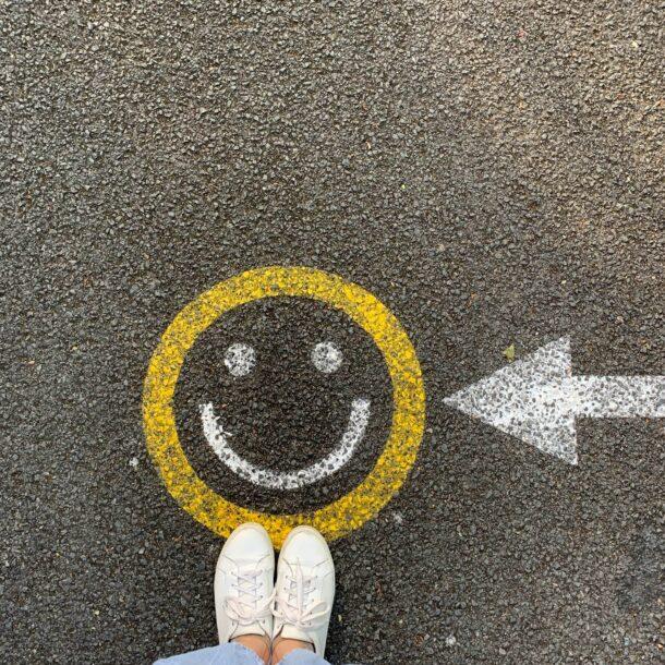 smiley emotikon za sretne kupce