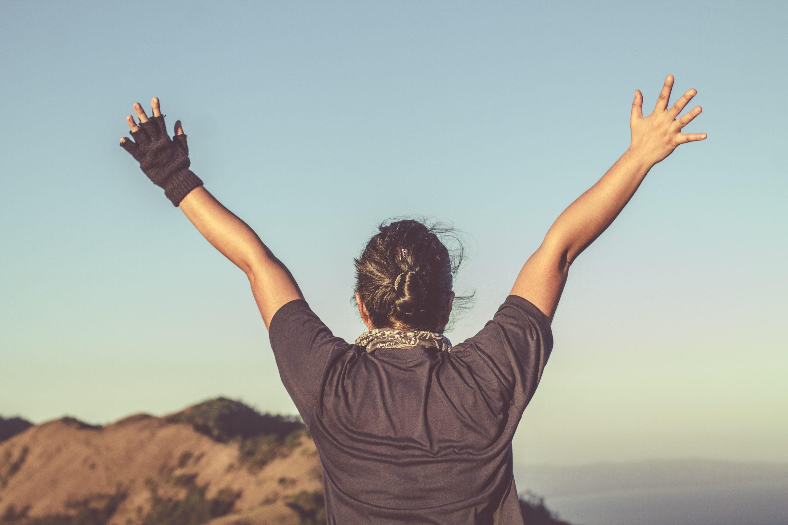 uspjeh i sretna osoba