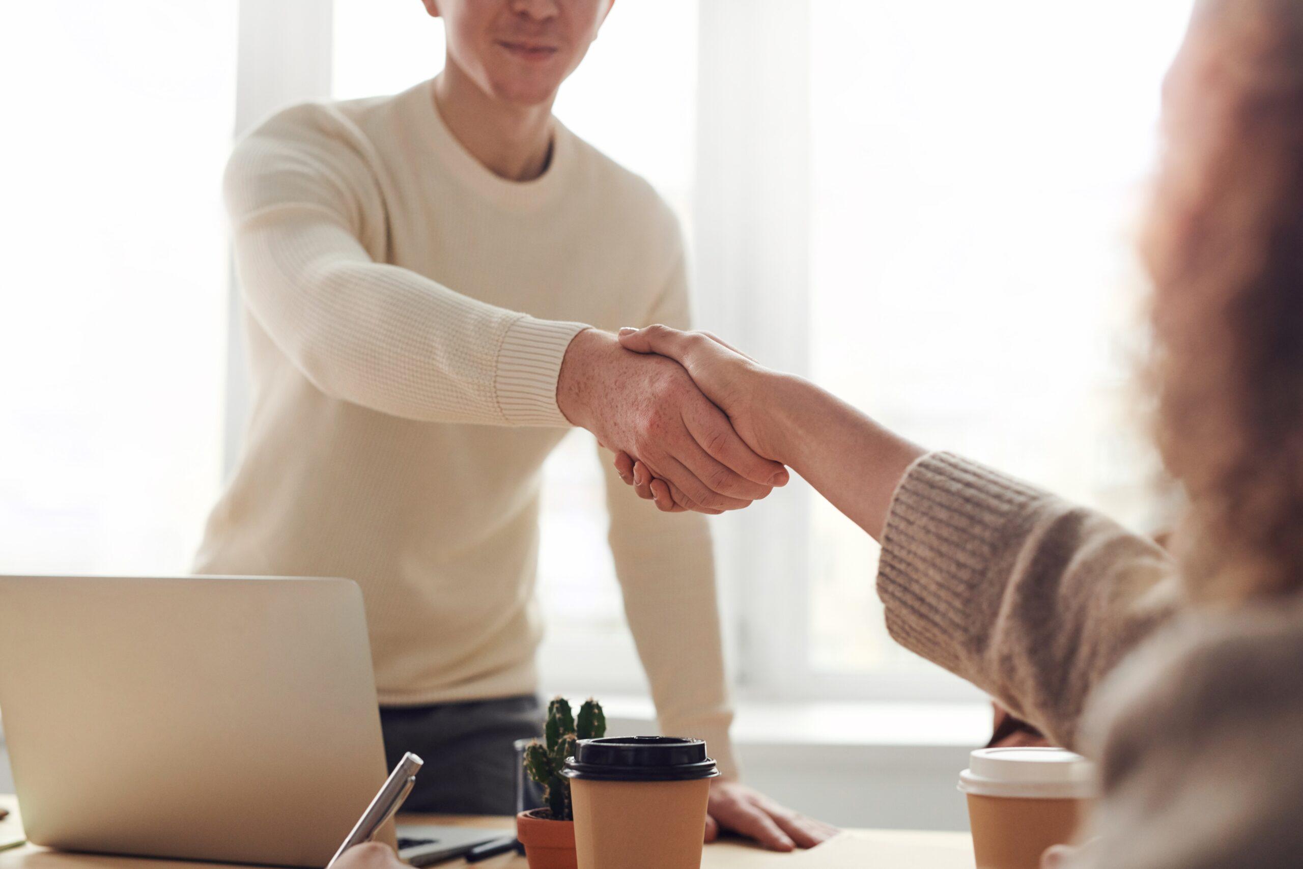 making deals